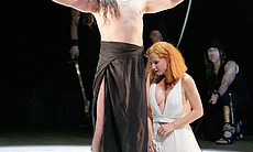 Performance photo of Greer Grimsley as the noble John the Baptist w... (13959)