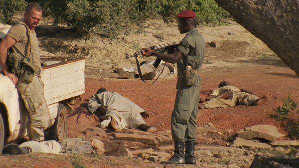 "Africa is a country well versed in violence so the landscape of a zombie apocalypse in ""The Dead"" looks very similar to news images we've seen in the past."
