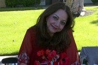 Zohreh Ghahremani, author of Sky of Red Poppies.
