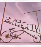"Slab City, ""The Last Free Place in America,"" is located 155 miles east of San Diego."