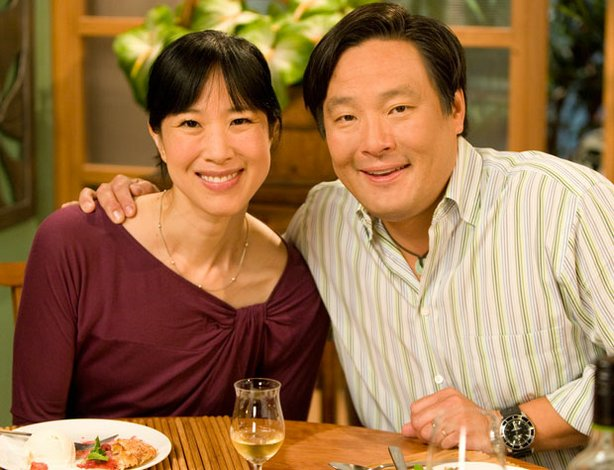 Boston baker Joanne Chang in the kitchen with chef Ming Tsai making amazing desserts on the fly.
