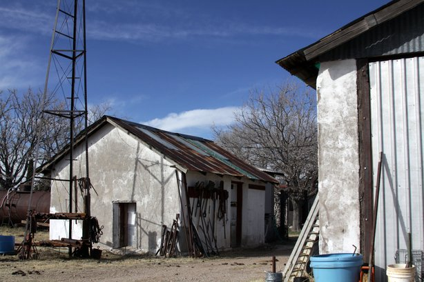 Ranch property in the Animas Valley of New Mexico.