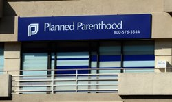 Offices of Planned Parenthood are seen on April 8, 2011 in Burbank, California