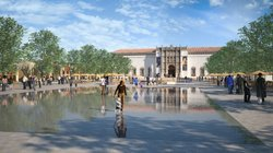 Rendering of the proposed Plaza de Panama Project