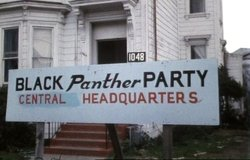 Black Panthers Headquarters, San Francisco, 1971.