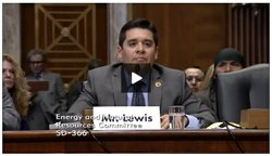 Shan Lewis, president of the Inter Tribal Council of Arizona, Inc., testified...