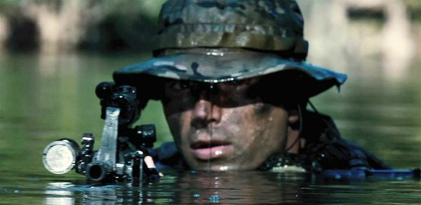 """Act of Valor"" uses active duty Navy SEALS as actors."