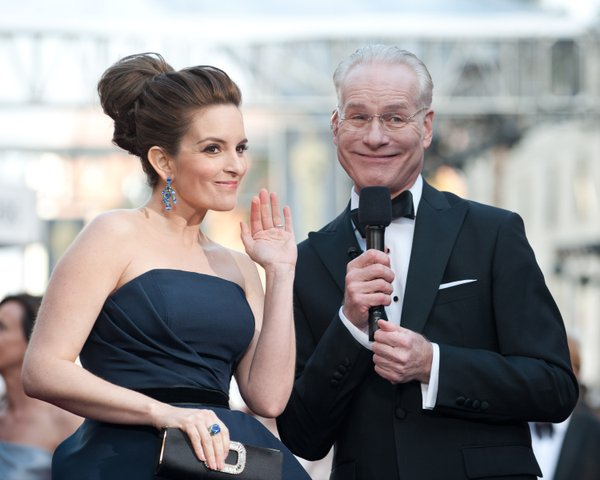 "Tina Fey, ""So who are you wearing tonight?"""
