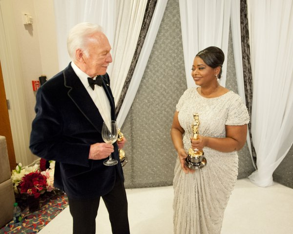 "A well-deserved pair of winners: Christopher Plummer (""Beginners"") and Octavia Spencer (""The Help"")."