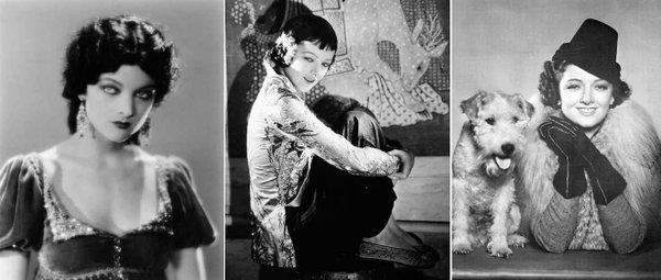 Myrna Loy's transformation from exotic vixen to perfect wife.
