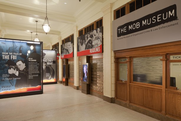 The Mob Museum opened its doors last month.