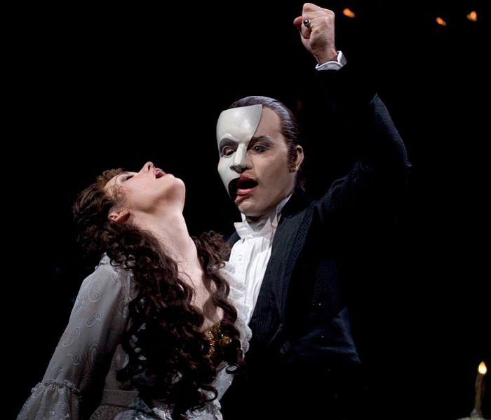 Sierra Boggess as Christine and Ramin Karimloo ...