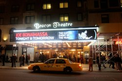 The legendary Beacon Theatre in New York City.
