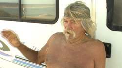 Surfer Lee of the Sea, 73, has seen access to many of his favorite Baja Calif...