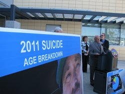 County medical examiner Glenn Wagner says the rise in suicides among middle-aged men is especially troubling.