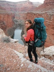 Ioana Hociota had hiked 850 miles in Grand Canyon and was just 80 miles from achieving her goal of hiking the length of the canyon from Lees Ferry to Pearce Ferry.