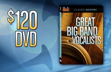 "Give at the $120 membership level and receive the ""Great Big Band Vocalists"" 2-DVD set. This gift includes a KPBS license plate frame (if you're a new member)."