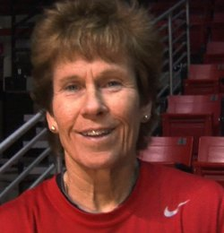 Former SDSU women's basketball coach Beth Burns
