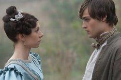 Vanessa Kirby as Estella and Douglas Booth as Pip in GREAT EXPECTATIONS.