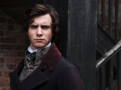 Harry Lloyd as Herbert Pocket in GREAT EXPECTATIONS. In real life Lloyd is the great-great-great grandson of Charles Dickens himself.