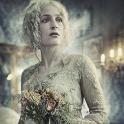 Gillian Anderson stars as Miss Havisham in GREAT EXPECTATIONS.