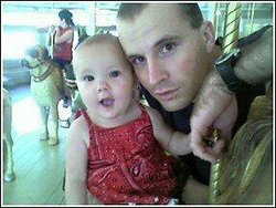 Sgt. Dennis Weichel and daughter Hope