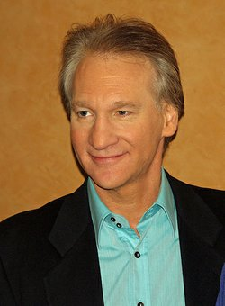 Bill Maher, shown here at a 2009 event, gave $1 million to the superPAC supporting President Obama's re-election bid.