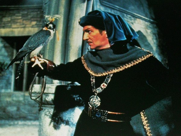 "Vincent Price in ""The Masque of Red Death."""