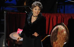 Broadway performer Judy Blazer stars as Bessie Thomashefsky in this celebration of Yiddish theater.