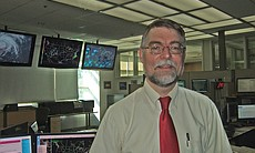Greg Carbin at the Storm Prediction Centre - the nerve centre for issuing wea...