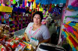 Ernestina Diaz has lived in the United States for 34 years and is studying to...