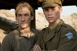 Joseph Mawle as Jack Firebrace and Eddie Redmayne as Stephen Wraysford in
