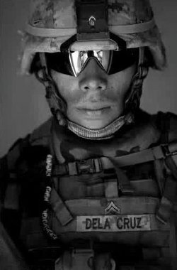 Marine Sgt. Sanick P. Dela Cruz faces expulsion from the Corps for lying to i...
