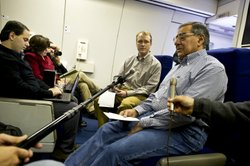 Defense Secretary Leon Panetta traveling to South America.