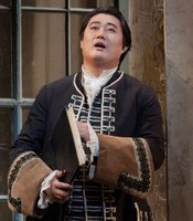 "Shenyang as Garibaldo in Handel's ""Rodelinda."""