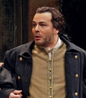 "Andreas Scholl as Bertarido in Handel's ""Rodelinda."""