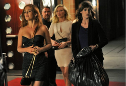 A scene from the upcoming film 'Bachelorette,' starring Isla Fisher, Kirsten Dunst and Lizzy Caplan.