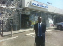 Ahmed Malinomar is leading the opposition to a liquor license for a store tha...