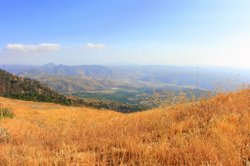 View of Pauma Valley from Palomar Mountain taken along Nate Harrison Grade Ro...