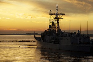 USS McClusky Returns To San Diego After Final Deployment