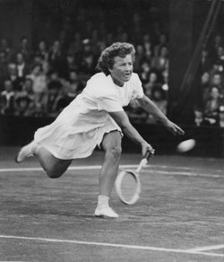 Dodo at Wimbledon, 1946