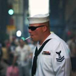 Smoking Sailor