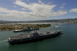 USS Vinson arrives in Pearl Harbor
