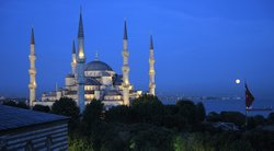 View of Istanbul, Turkey.
