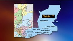 San Diego City Council District 7 map.