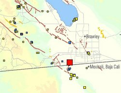 Earthquake Rattles Border Region