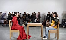 "Marina Abramović ""The Artist Is Present,"" 2010. Performance, 3 Months. The Mu..."