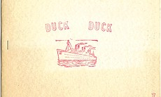 Duck Duck No. 3, 1967, Richard Allen Morris' short-lived poetry 'zine