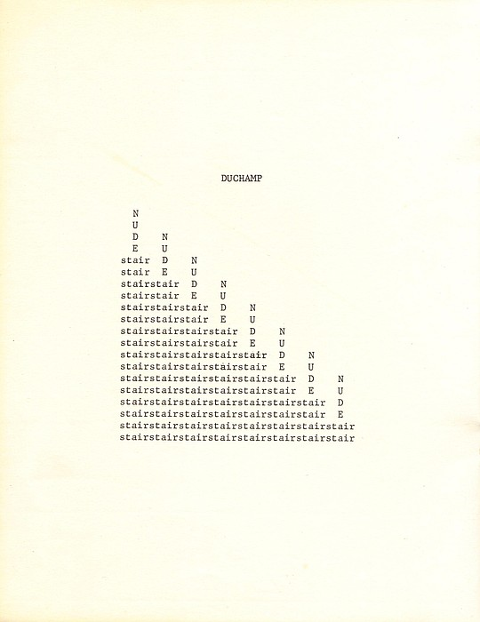 nude descending a staircase poem review 1-16 of 51 results for marcel duchamp prints nude descending staircase by marcel duchamp goodreads book reviews & recommendations.