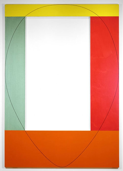 "Robert Mangold's ""Four Color Frame Painting #4,..."